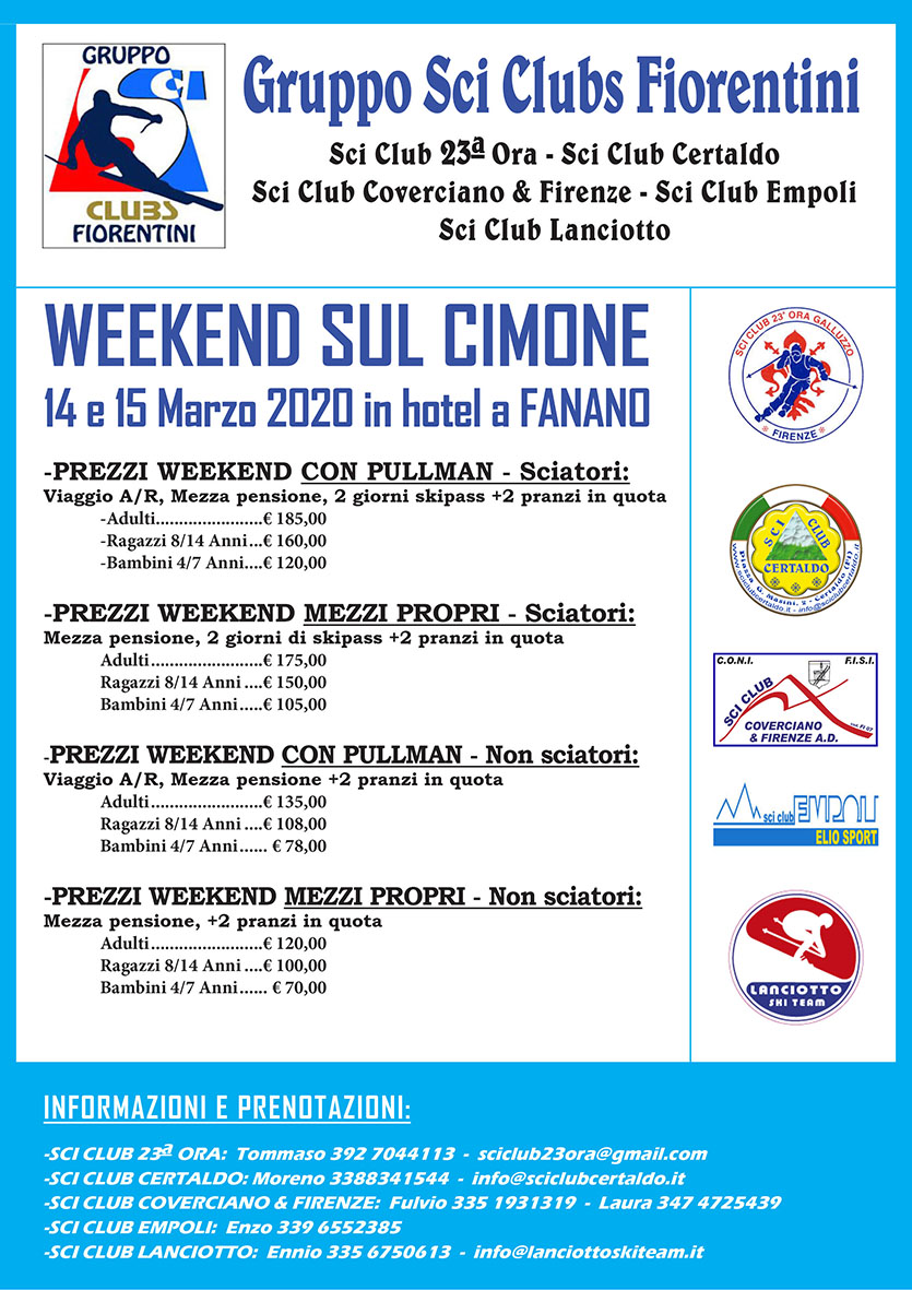 Week end Cimone 2020 small